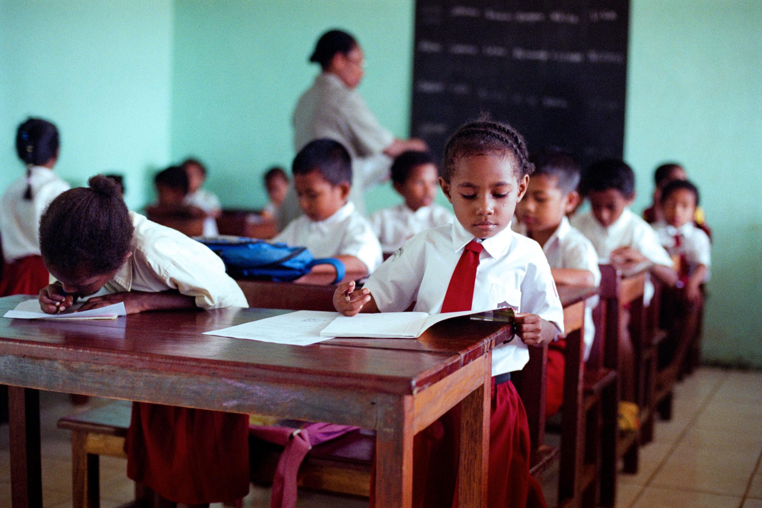 Onderwijs op Papua | Hapin