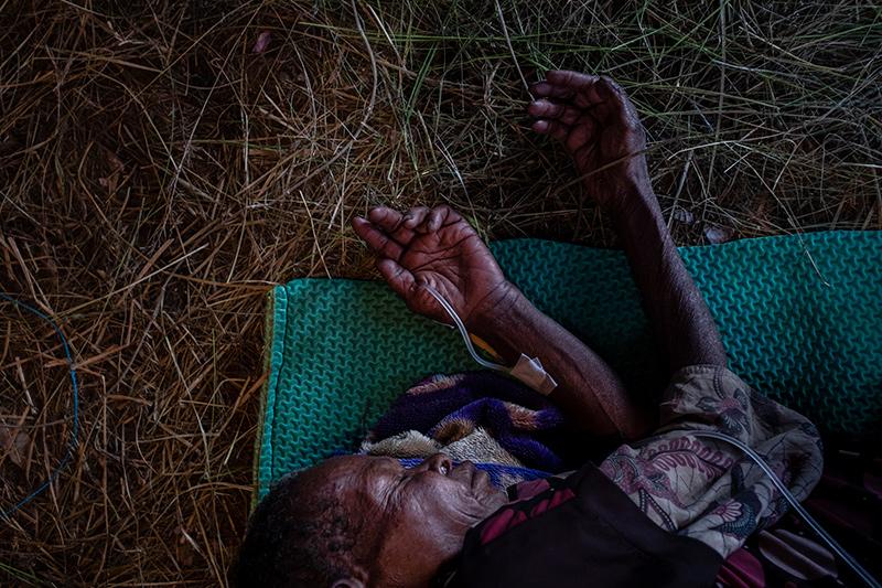 Infuus dame Nduga Papua