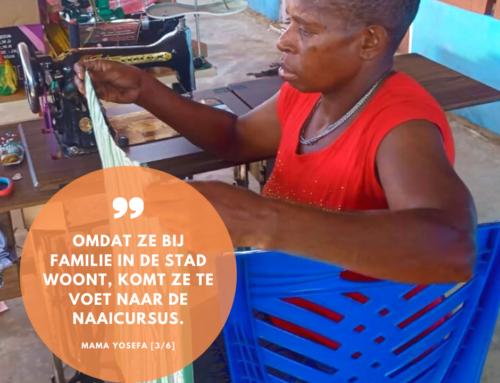 Naaicursus voor Asmat-moeders: ontmoet mama Yosefa