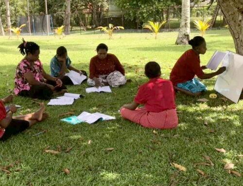 Alfabetiseringscursus voor en door vrouwen