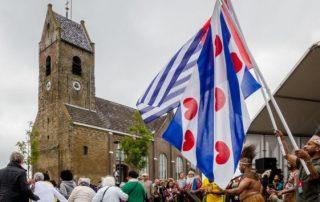 Een Fries feestje met en voor de Papoea's