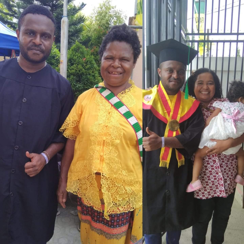 Hapin student Papua
