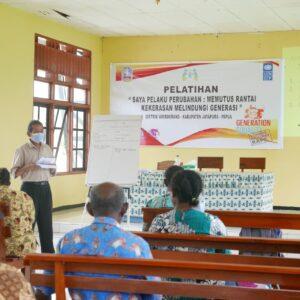Voorlichtingsbijeenkomst over gendergerelateerd geweld door Pujaprema