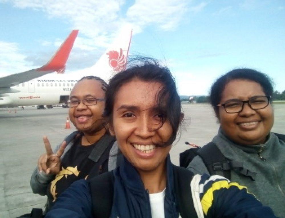 Het HAPIN-team in Papua
