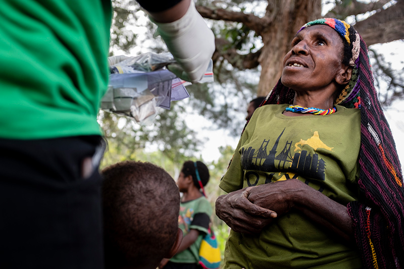 Uitleg medicatie Nduga Wamena