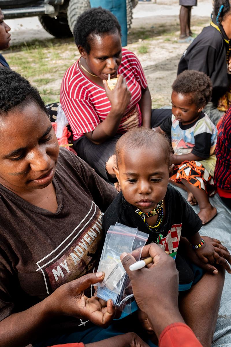 Uitleg gebruik medicatie Nduga Papua