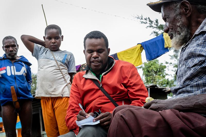 Vragenlijst aan patient Nduga Papua