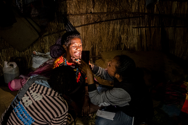 Controle keel Nduga Papua