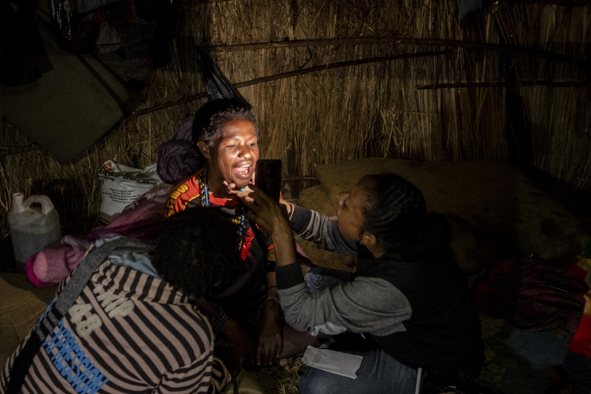 medische steun vluchtelingen Nduga Papua
