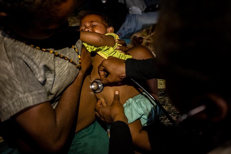 Onderzoek baby Nduga Papua
