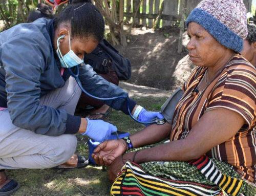Opnieuw op medische missie naar Nduga vluchtelingen