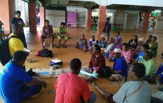 Team Hapin Papua in Merauke