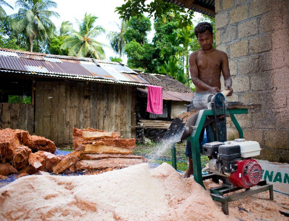 Terugblik: Sago project in Waiya