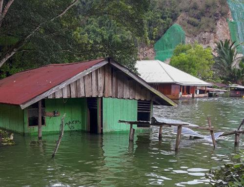 Overstroming Sentani update
