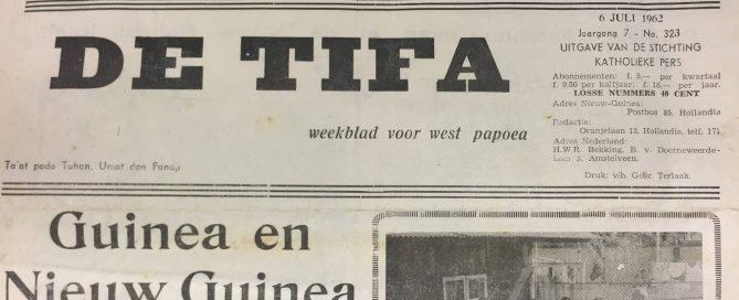 de tifa weekblad voor west papoea