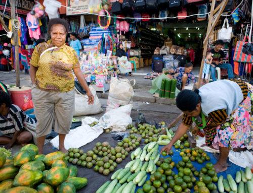 Training voor nieuwe groep marktvrouwen in Jayapura